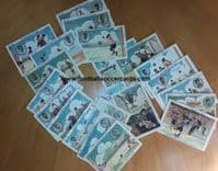 1923 *part SET* Spanish 22 cards (21 of 25 + 1) Great Players HOW THE CHAMPIONSHIP WAS WON Amatller